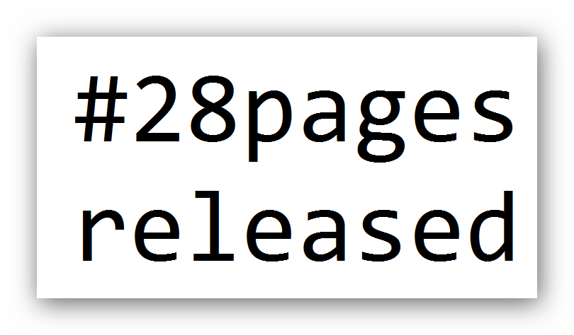 28 Pager released - after 7 Years!