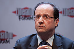 Francois Hollande - Matthieu Riegler, CC-by [CC BY 3.0 (http://creativecommons.org/licenses/by/3.0) or CC BY 3.0 (http://creativecommons.org/licenses/by/3.0)], via Wikimedia Commons