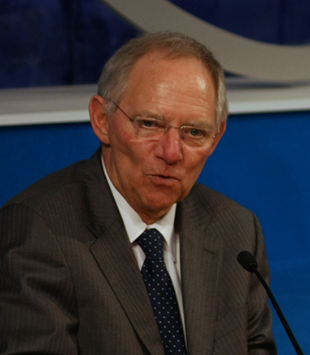 Wolfgang Schäuble - (wikimedia commons)